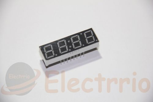 EL0440 DISPLAY LED ROJO 4 DÍGITOS 7 SEGMENTOS